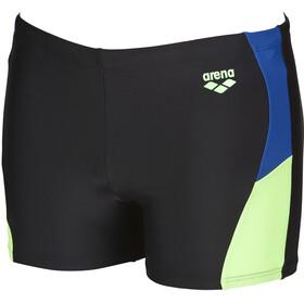 arena Ren Shorts Men black-royal-shiny green
